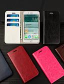 זול מגנים לאייפון-מארז טלפון עור מחזיק כרטיס flip musubo עבור apple iphone 7 plus / iphone 8 plus / iphone xs / iphone x / iphone 6 / 6s / iphone xr / iphone xs מארז גוף מלא מקסימלי לאייפון 5 / 5s / se / 8/7/6 פלוס / 6