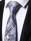 זול עניבות ועניבות פרפר לגברים-עניבת צווארון - פסים / סרוג מסיבה / עבודה בגדי ריקוד גברים