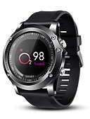 hesapli Akıllı Saatler-Akıllı İzle Dijital Modern Stil Stortif Silikon 30 m Su Resisdansı Kalp Ritmi Monitörü Bluetooth Dijital Günlük Dış Mekan - Siyah
