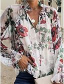 povoljno Ženski jednodijelni kostimi-Majica Žene Dnevno Cvjetni print Obala