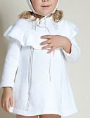 povoljno Majice za bebe-Dijete Djevojčice Osnovni Jednobojni Dugih rukava Bluza Obala