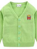 お買い得  赤ちゃん セーター&カーディガン-赤ちゃん 女の子 ベーシック ソリッド 長袖 セーター&カーデガン ピンク