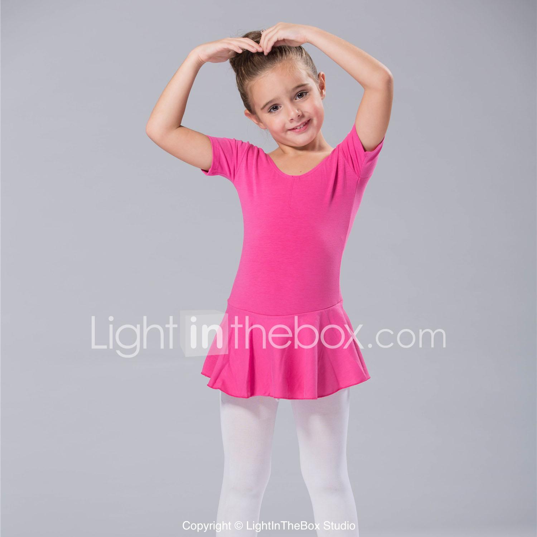 Ropa de Baile para Niños / Ballet Vestidos Mujer Licra Mangas cortas ...