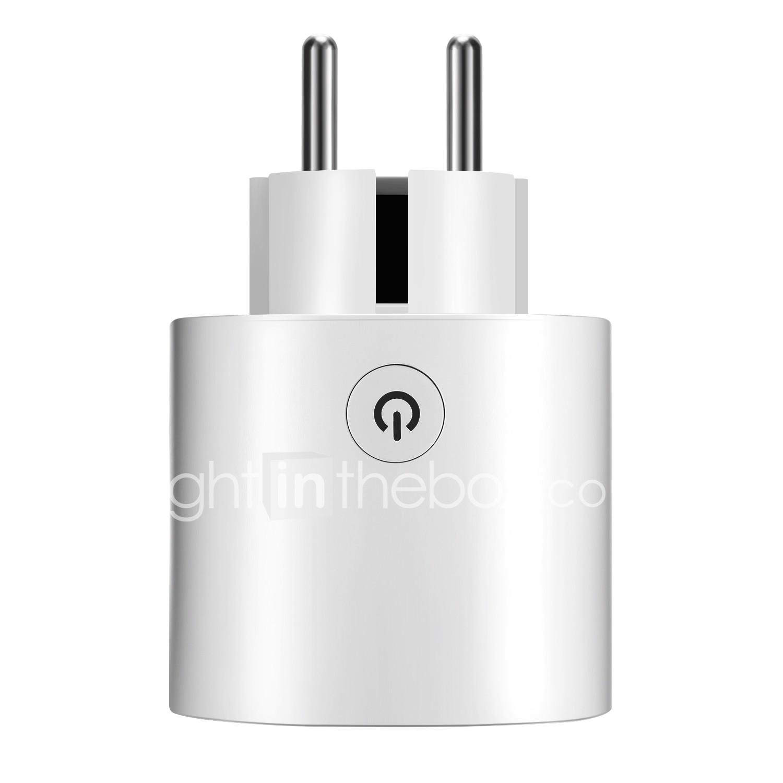 WAZA Smart Plug(EU) Mini Outlet Compatible with Amazon Alexa