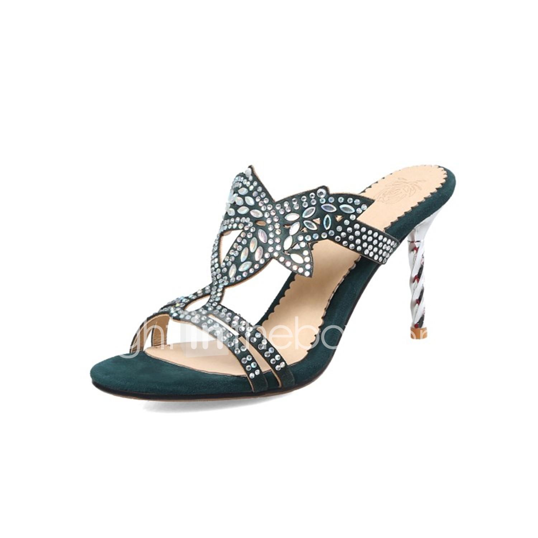 Sandalias Personalizados Zapatos Mujer Materiales Verano Confort EpX4q4wZW