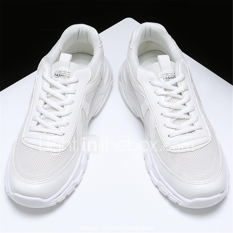 621bffc51 رجالي أحذية الراحة حياكة الربيع أحذية رياضية أبيض / أسود / البيج ...