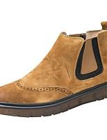 8146219991964 abordables Botas de Hombre-Hombre Zapatos Confort Ante Otoño invierno Botas  Botines   Hasta el