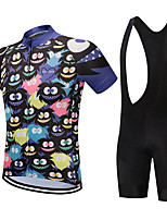 cheap Cycling Clothing-FirtySnow Men  039 s Short Sleeve Cycling Jersey with  Bib New 6af697e4c
