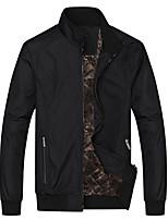 8de959ab940a Χαμηλού Κόστους Ανδρικά μπουφάν και παλτό-Ανδρικά Καθημερινά Βασικό  Φθινόπωρο Κανονικό Σακάκι