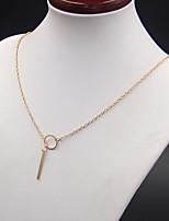 03e2531f41 cheap Necklaces-Women's Necklace Charm Necklace Gold 52 cm Necklace  Jewelry