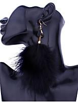c59ce01c32e8 abordables Joyería para Boda y Fiesta-Mujer Pendiente Aretes Joyas Negro    Gris   Rosa