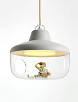 Pendant Lights Contracted Led Bowl Geometrical Lantern Light Ambient