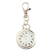 Mujer Reloj de Moda la solapa del reloj Llavero Reloj Cuarzo / Aleación Banda Vintage Plata