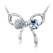 cristal romántico arco collar boda elegante estilo femenino