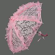 ピンク♥レース♥ウェディング日傘