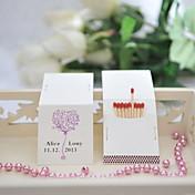 厚手カード用ペーパー 結婚式の装飾-50ピース/セット カスタマイズ可 マッチは含まれていません.