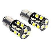 1157 BA15D (1142) Coche Blanco 3.5W SMD 5050 6000-6500 Luz de Direccional Luz de Freno Bus CAN