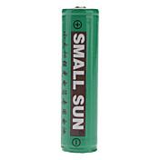 SmallSun 18650.0 Baterías 2400 mAh para Camping/Senderismo/Cuevas