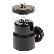 Mini portátil de metal destello del sostenedor del montaje de cámara - Negro