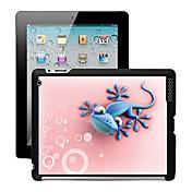 iPadの2/3/4のための3Dエフェクトケース裏表紙