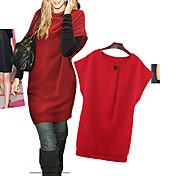 女性のファッションルースはサイズの服を追加
