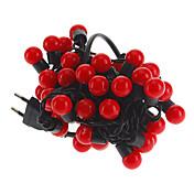 LEDストリップライト(220V)形5M 3W 50-LEDレッドライトボール