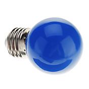 0.5W E26/E27 Bombillas LED de Globo G45 7 LED Dip 50 lm Azul K Decorativa AC 100-240 V
