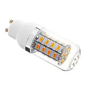 5W GU10 LEDコーン型電球 36 LEDの SMD 5730 調光可能 温白色 350-400lm 2700-3500K 交流220から240V