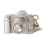 8 Gb Kamera Design Usb-Flashdrev Med Rhinsten Dekoration