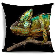 funda de almohada decorativa de algodón / lino cabrite cool para el hogar