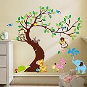 zooyoo® mono extraíble en las pegatinas de pared árbol de etiquetas de la pared vendedora caliente para la decoración del hogar