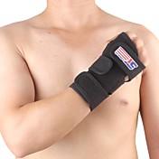 手・手首用シーネ スポーツサポート 保護 高通気性 フィットネス ランニング 黒フェード