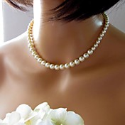 Women's European Fashion  Imitation Pearls  Necklace (1 Pc)