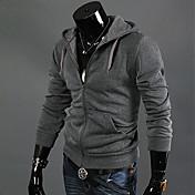 Camisas Casuales ( Algodón Compuesto )- Casual Manga Larga para Hombre