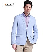 Lesmart® Men's Business Casual Light Blue Thin Suit