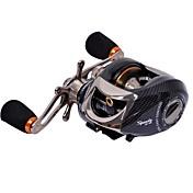 Carrete de la pesca Carretes de lanzamiento 6.3:1 14 Rodamientos de bolas -ManosPesca de baitcasting / Pesca de agua dulce / Pesca de