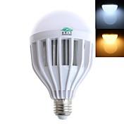 e26 / e27 ledグローブ電球g60 36 smd 5730 800lm暖かい白コールドホワイト3000-3500k / 6000-6500k装飾的なAC 220-240v