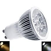 gu10 llevó el proyector mr16 1 de alta potencia llevó 350-400lm blanco cálido blanco frío 3000-3500k / 6000-6500k ac regulable 220-240v