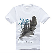 de Zhengmao hombres de manga corta de algodón puro camisetas