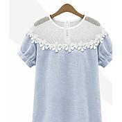Casual Diario Verano Camiseta Manga Corta