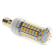 4.5W E14 LEDコーン型電球 T 69 LED SMD 5730 温白色 450-500lm 3000-3500K 交流220から240V