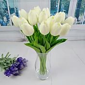 nuevos tulipán artificial 6 piezas para la boda y la decoración del partido