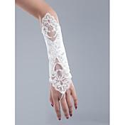 ネットオペラ長手袋の花嫁の手袋パーティー/夕方の手袋エレガントなスタイル
