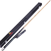 Tres cuartos de dos piezas Cue Sticks & Accesorios Cue Azul Piscina Inglés Billar Snooker Profesional Duradero Madera