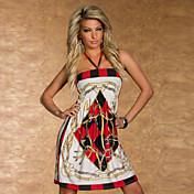 Vestido Mezcla de Algodón
