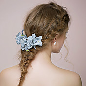 tela flores tocado boda estilo elegante clásico femenino
