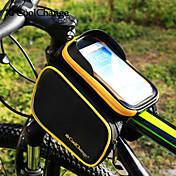 CoolChange Bolsa para Cuadro de Bici Ciclismo Mochila Accesorios de Mochila Bolso del teléfono celular 6.2 pulgada Banda reflectante