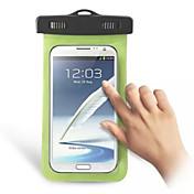 bolsa subacuática impermeable caso del protector de la bolsa seca para el teléfono móvil de Samsung y otros teléfonos (color clasificado)