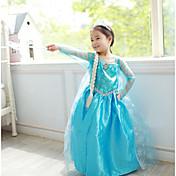 Princesas Cuento de Hadas Elsa Disfrace de Cosplay Ropa de Fiesta Niño Navidad Halloween Día del Niño Festival / Celebración Disfraces de