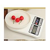 1 juego basekey dieta nueva cocina digital de 1 g de peso 7-10kg electrónica estilo al azar balanza